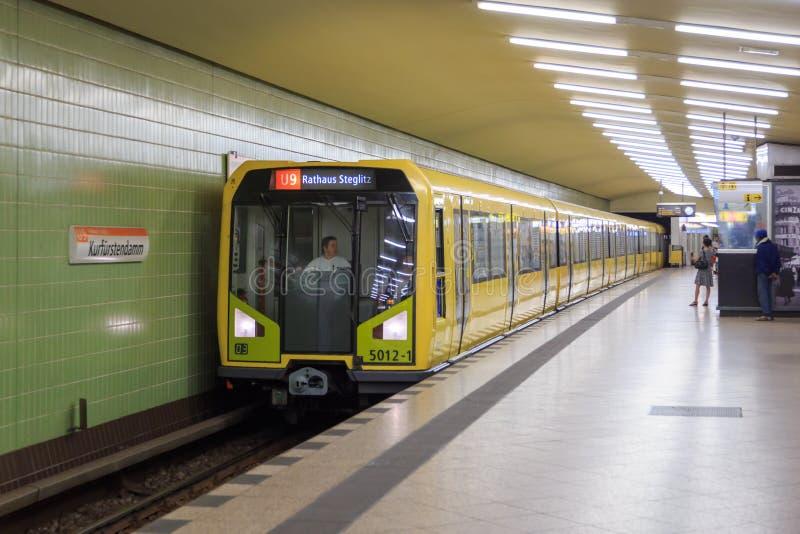 Metro de Berlim fotos de stock royalty free