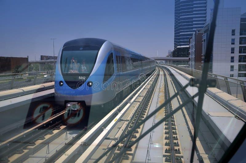 Metro de Dubai foto de stock royalty free