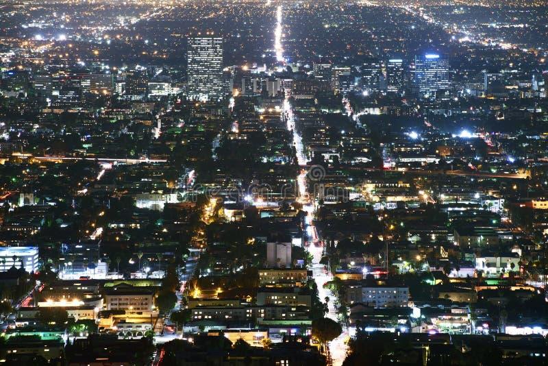 Metro de Los Ángeles foto de archivo