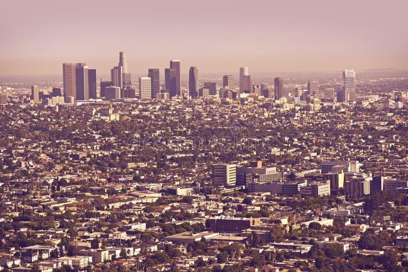 Metro de Los Angeles foto de stock