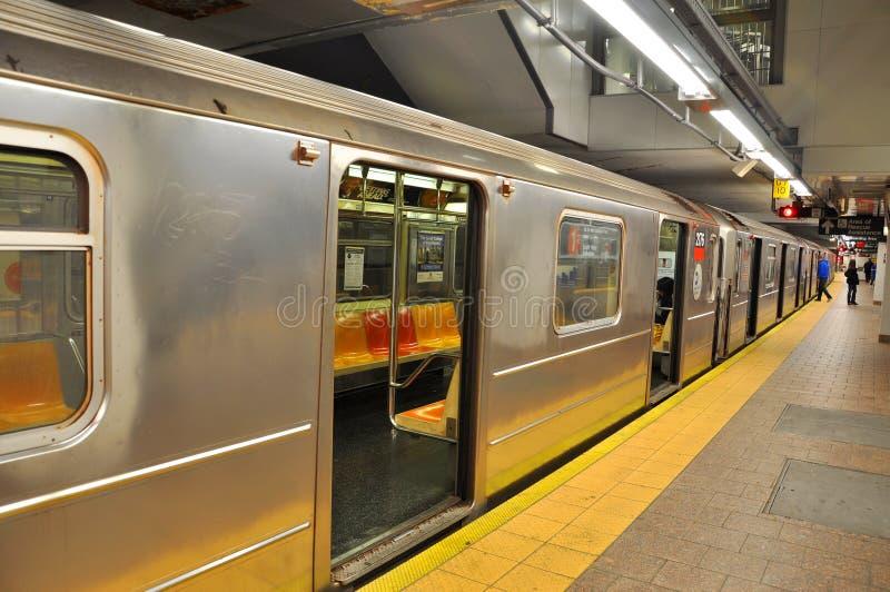 Metro de New York fotografia de stock