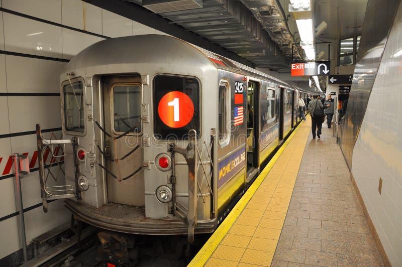 Metro de New York imagem de stock