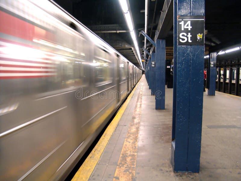 Metro de New York foto de stock royalty free