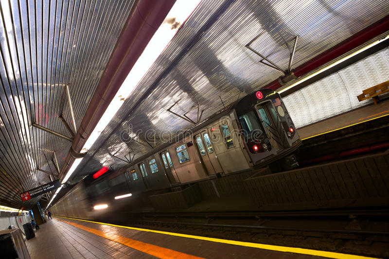 Metro de New York fotos de stock