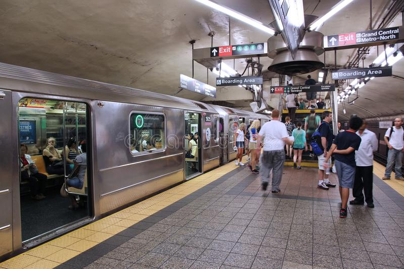Metro de New York imagens de stock royalty free