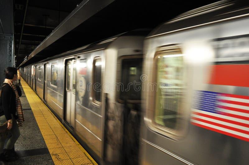 Metro de New York fotografia de stock royalty free