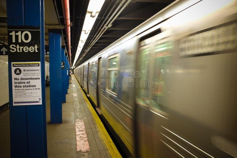 Metro de New York imagem de stock royalty free