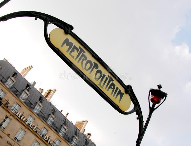 Metro de París imágenes de archivo libres de regalías