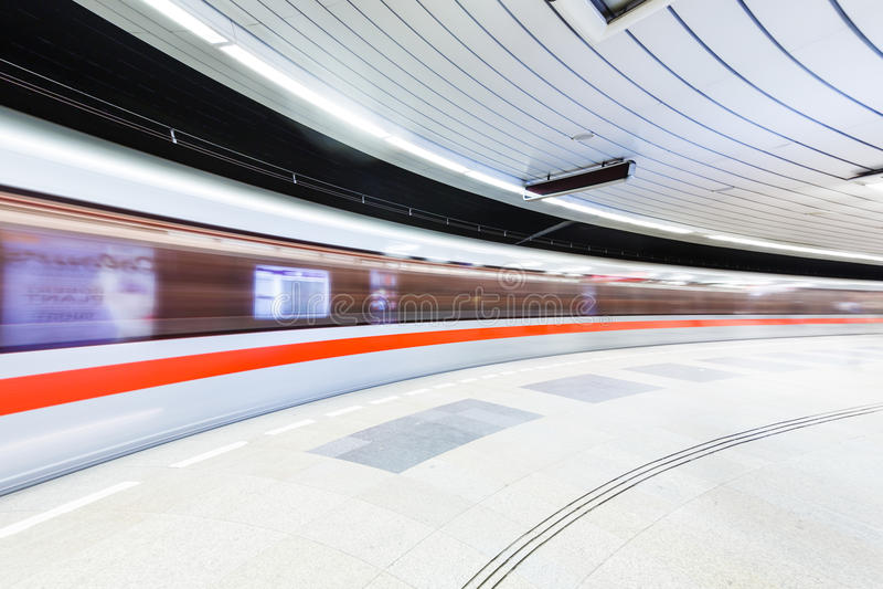 Metro de Praga fotos de stock