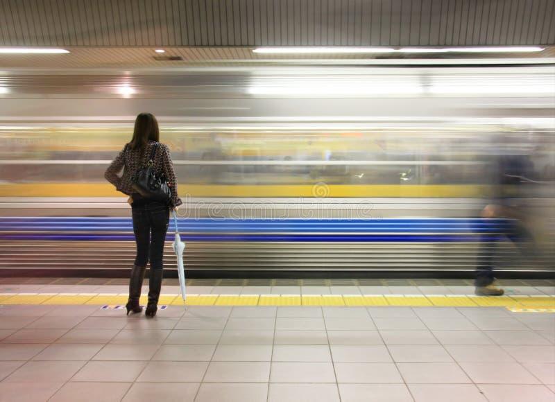Metro de Tokyo fotos de stock