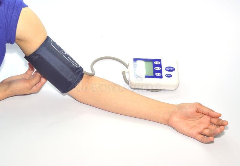 Metro di pressione sanguigna fotografie stock libere da diritti