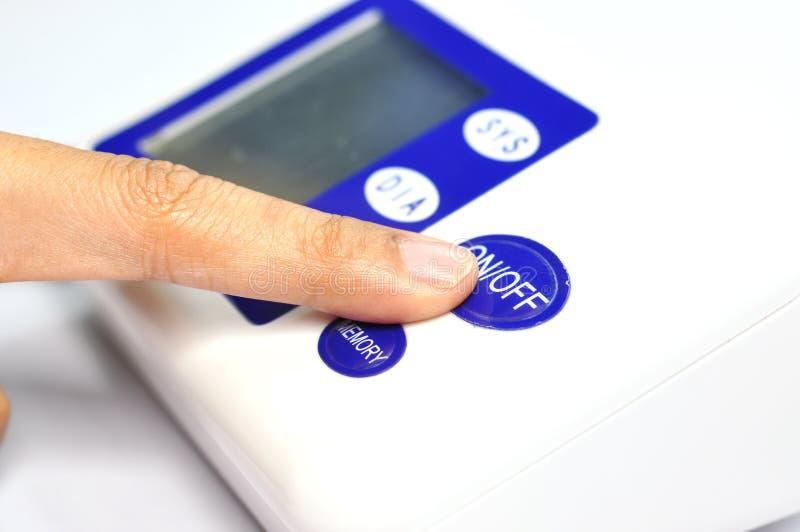 Metro di pressione sanguigna fotografia stock libera da diritti