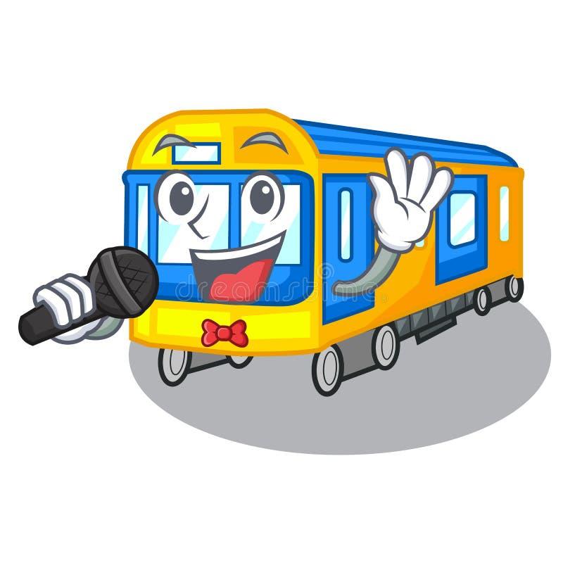 Metro do canto isolado nos desenhos animados ilustração royalty free