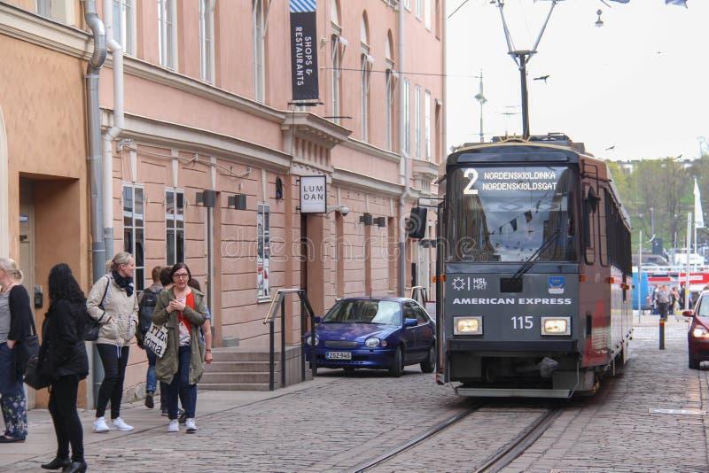 Metro do ` s de Finlandia fotografia de stock royalty free