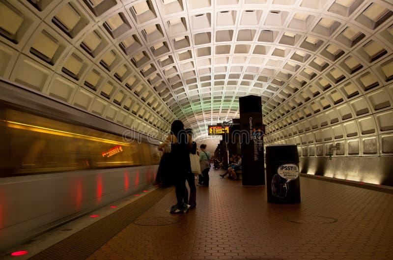 Metro do Washington DC foto de stock