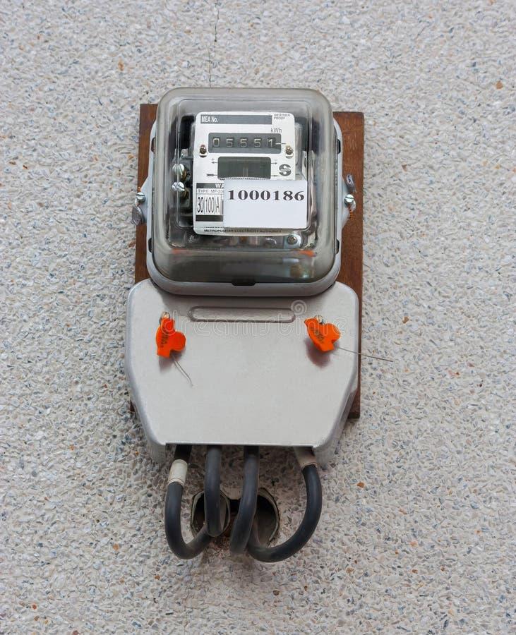 Metro eléctrico imagen de archivo libre de regalías