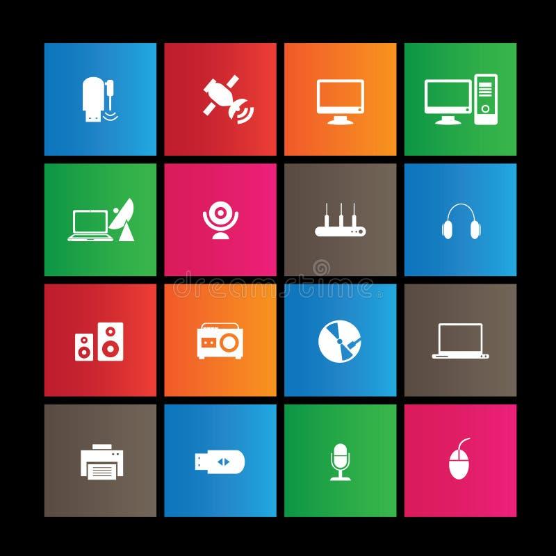 Metro ikona, Ogólnospołeczni środki ilustracja wektor