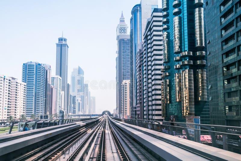 Download Metro line in Dubai editorial image. Image of construction - 41935715