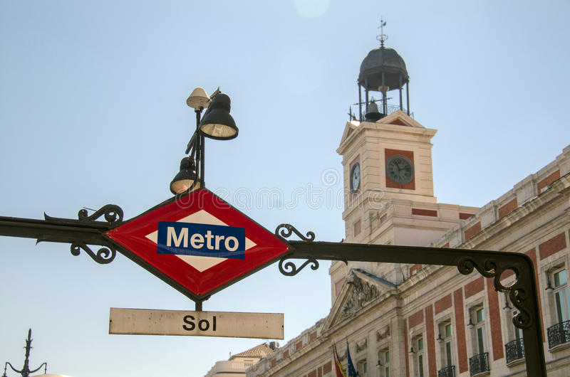Download Metro in Madrid, Spain editorial photography. Image of spain - 29643222