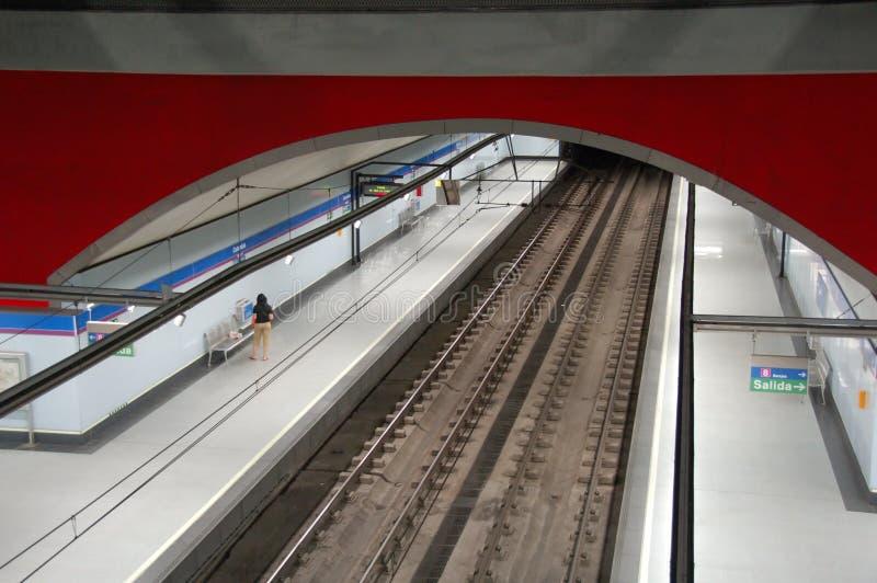 metro madryt fotografia stock