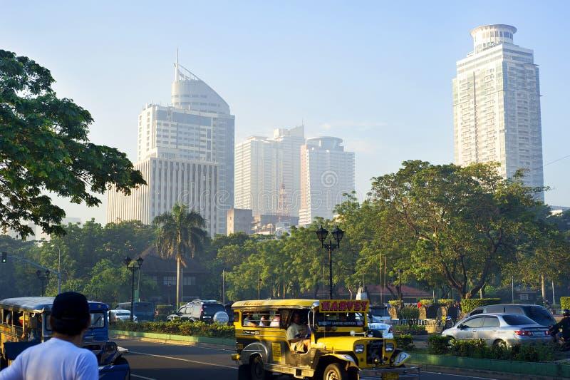 Metro Manila lizenzfreie stockfotografie