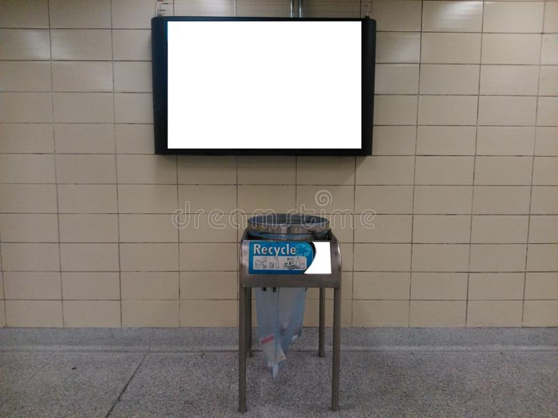 Metro monitor obrazy royalty free