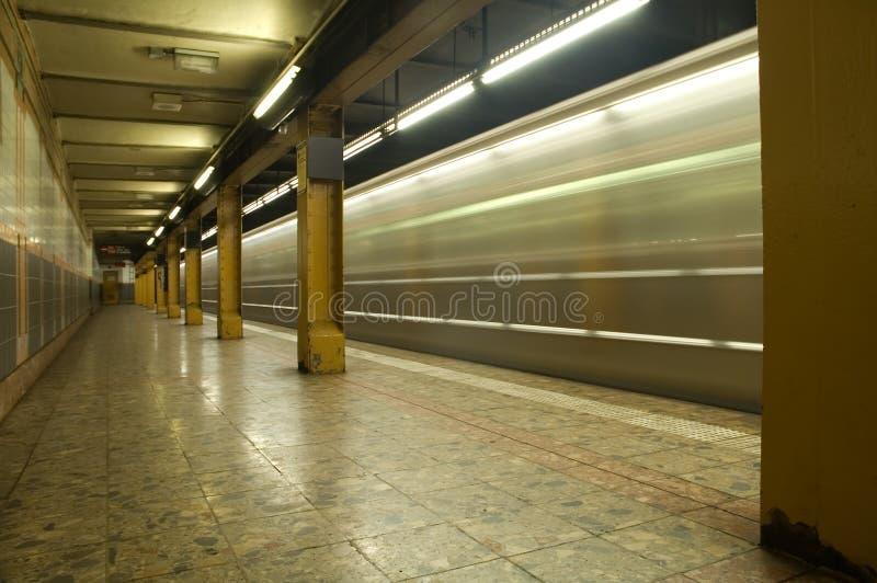 metro motion στοκ φωτογραφίες