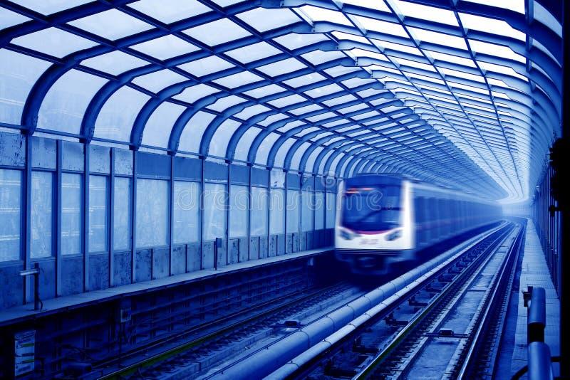 Metro na porcelana de beijing imagem de stock