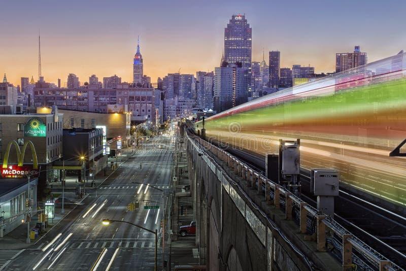 Metro New York fotos de stock royalty free