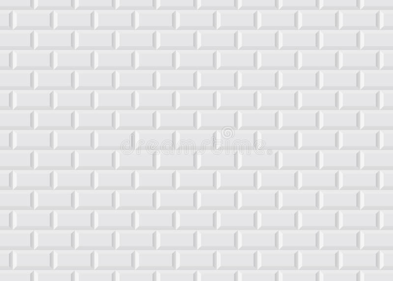 Metro parisiense embaldosado blanco libre illustration