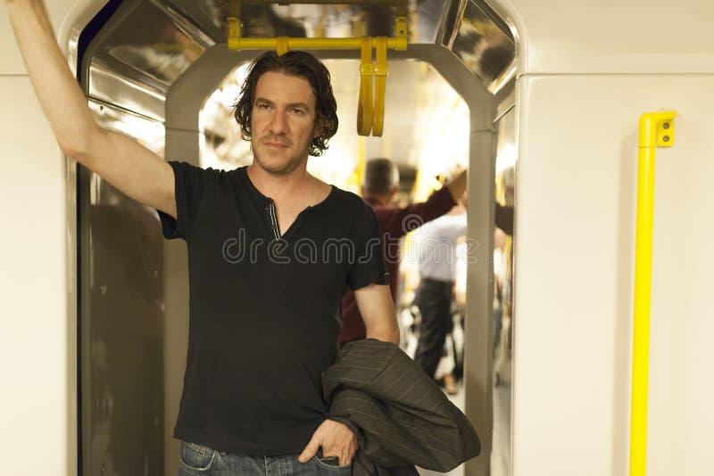 Metro Passanger stock foto's