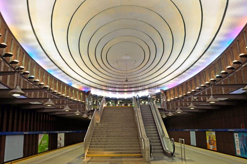 Metro Plac Wilsona fotografia de stock royalty free