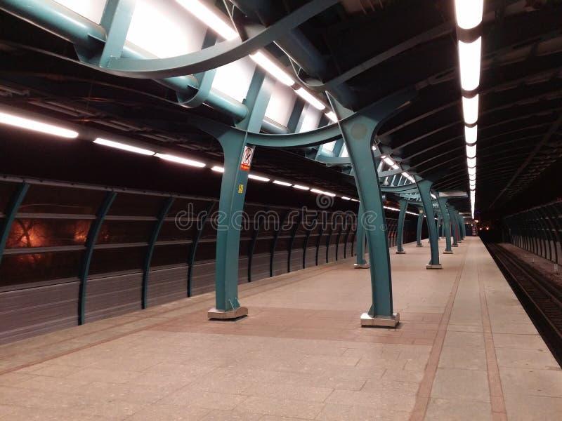 Metro postarchitectuur royalty-vrije stock afbeelding