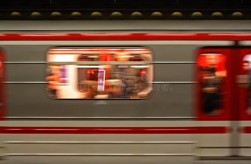 metro prague στοκ φωτογραφία με δικαίωμα ελεύθερης χρήσης