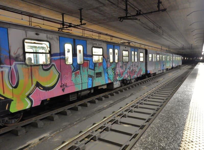 Metro przerwa zdjęcia stock
