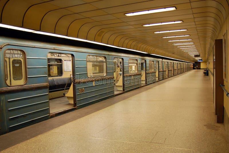 Metro przerwa w Budapest zdjęcia stock