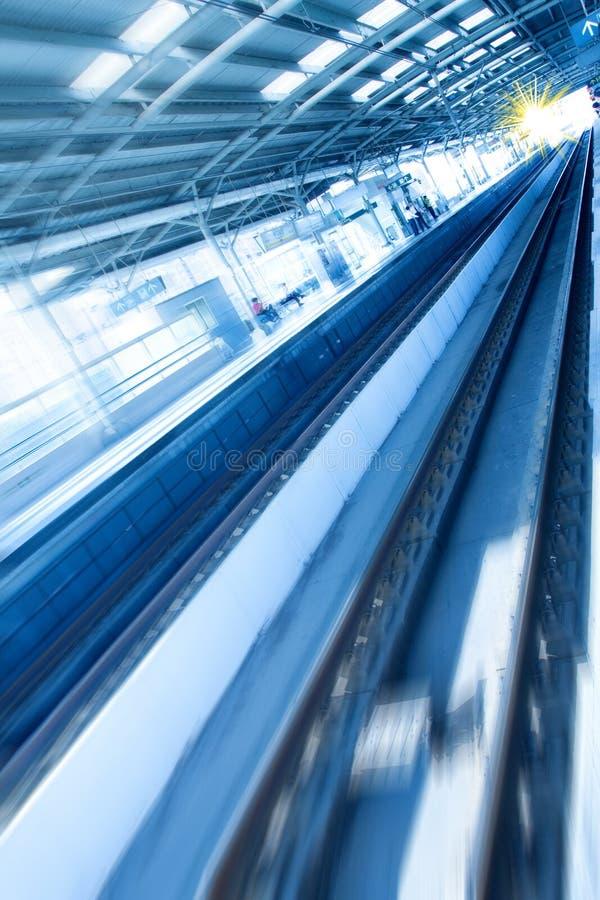 Metro Rail Stock Photography