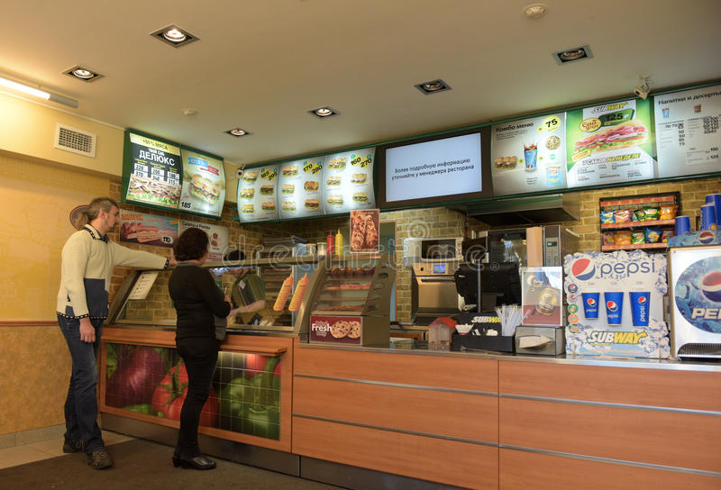 Metro restauracja zdjęcia stock