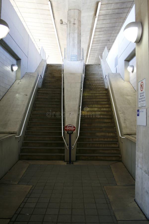 metro schodka fotografia royalty free