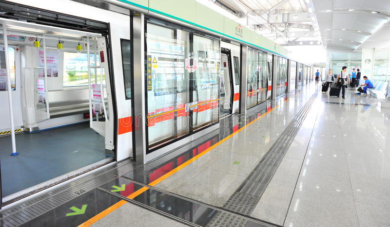 Download Metro station editorial photo. Image of entry, china - 21680866