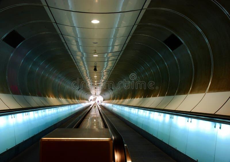 Metro station, Rotterdam stock photo