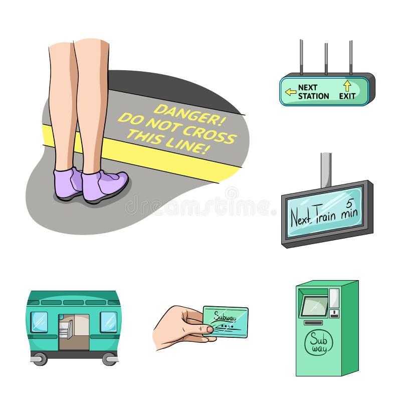Metro Subway Cartoon Icons In Set Collection For Designurban