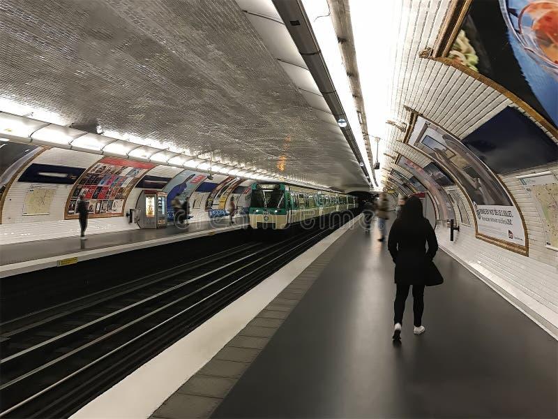 Metro Taborowa stacja metru obraz stock