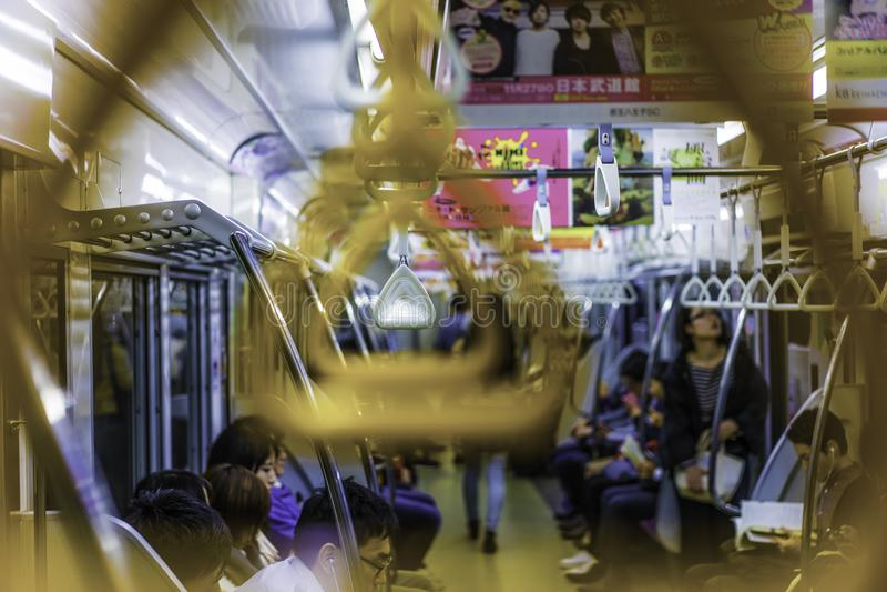 metro tokio zdjęcie stock