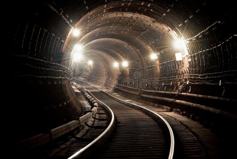 Metro tunel NYC Kijów, Ukraina Kyiv, Ukraina fotografia royalty free