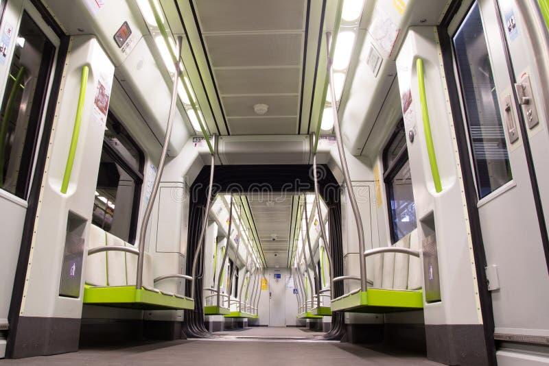 Metro Valencia foto de archivo libre de regalías