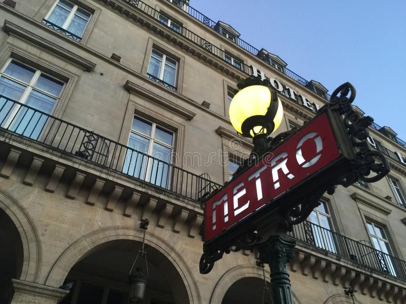 metro van paren royalty-vrije stock foto's