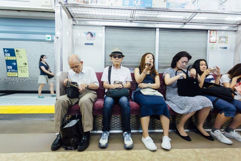 Metro van Tokyo in Japan stock fotografie