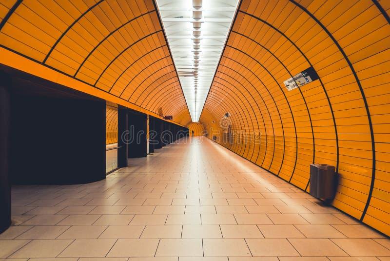Metro w Monachium zdjęcia stock