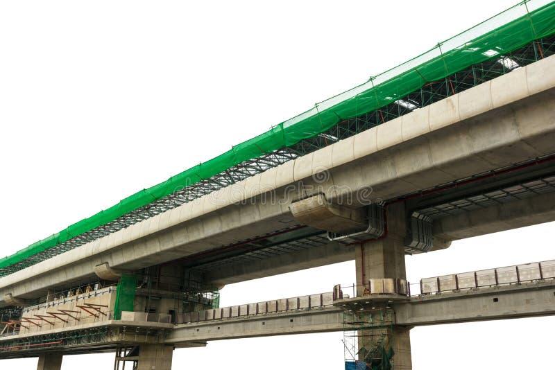 Metro wegenbouw royalty-vrije stock afbeelding